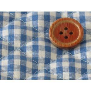 生地 50cm単位 キルティング 4mmギンガム(ブルー) 8500-12 [実店舗共有品] 布 キルト チェック柄|fabrichouseiseki