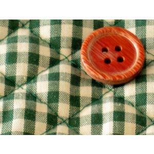 生地 50cm単位 キルティング 4mmギンガム(ボトルグリーン) [実店舗共有品] 布 キルト チェック柄 8500-17|fabrichouseiseki