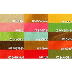生地 50cm単位 カラーシーチング 無地 (前半色) 10000 [在庫共有品] WTU 布 綿 fabrichouseiseki
