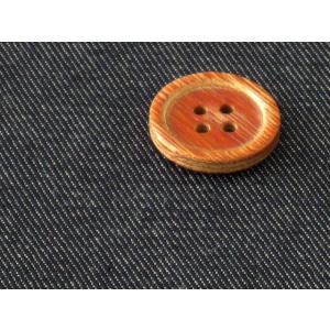 生地 50cm単位  T/Cデニム 無地(ダークネイビー) 500-713-3 [在庫共有品] 布 綿|fabrichouseiseki