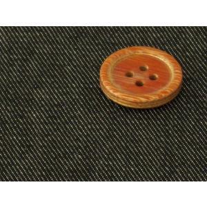 生地 50cm単位 T/Cデニム 無地(ブラック) 500-713-4 [在庫共有品] 布 綿|fabrichouseiseki