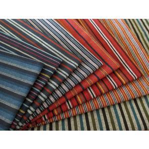 生地 50cm単位 和調 三川地木綿 ストライプ [在庫共有品] 45000 和柄 布 綿 YTU|fabrichouseiseki