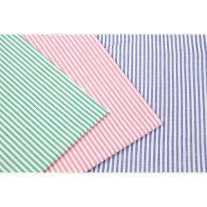 50cm単位 先染 ブロード 3mmストライプ G2001 [在庫共有品] 生地 布 綿|fabrichouseiseki