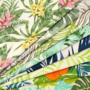 生地 1m単位 シーチング インド綿 リゾート柄 1253 布 花柄 植物柄 ハワイアン G-VZT【値下げ処分品】|fabrichouseiseki
