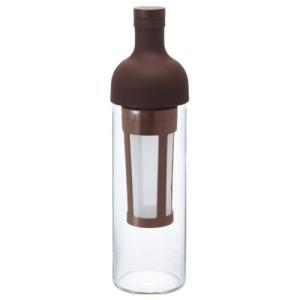 ハリオのフィルターインコーヒーボトル(5杯専用)です。水とコーヒー粉だけで水出しコーヒーが作れます。...