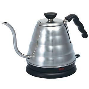 コーヒードリップに適した細い注ぎ口。お湯が沸くと自動的に電源OFF。空焚き防止機能付き。(電気コード...