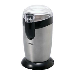 ご自宅で手軽に挽きたてコーヒーを愉しめます。蓋を閉めないと動作しない安全設計。コードは製品底部に収納...