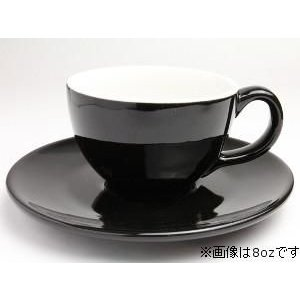 Rattleware Cremaware Cup& Saucer 12oz (黒)