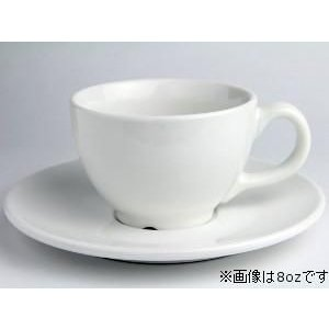 Rattleware Cremaware Cup& Saucer 12oz (白)