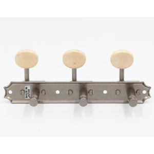 クルーソンタイプ3連ギターペグ/3SD-スタンダード軸(エイジドニッケル)|factorhythm|04