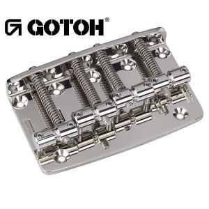ゴトー【GOTOH】ベースブリッジ4弦 203B-4(ブラッククローム)|factorhythm