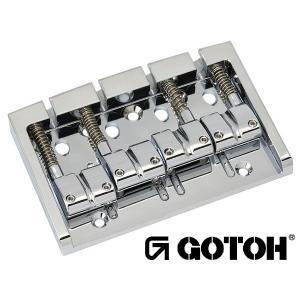 ゴトー【GOTOH】ベースブリッジ6弦 303BO-6(ブラッククローム)|factorhythm