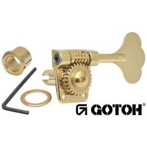 ゴトー【GOTOH】ベースペグ 6弦 GB528-6(Xゴールド)|factorhythm