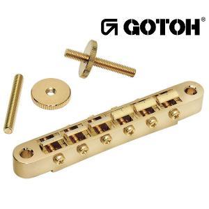 ゴトー【GOTOH】レスポールタイプ ギターブリッジGE104B(ニッケル)|factorhythm