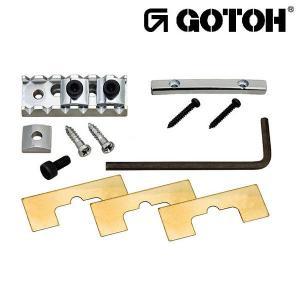 ゴトー【GOTOH】ロックナット GHL-2(ブラッククローム)|factorhythm