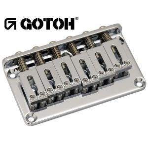 ゴトー【GOTOH】ギターブリッジ GTC102(ブラッククローム)|factorhythm