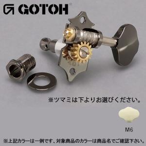 ゴトー【GOTOH】オープンギアタイプSXN510V(ブラッククローム) ツマミ:M6|factorhythm