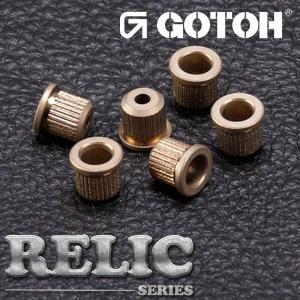 ゴトー【GOTOH】エイジド加工済「RELIC」ストリングブッシュTLB-1|factorhythm