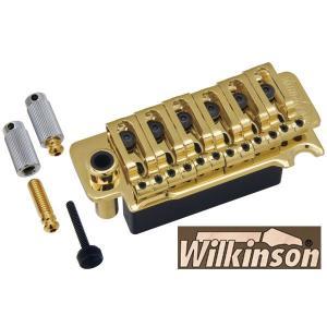 ウィルキンソン【WILKINSON】トレモロユニットVG300(ゴールド)|factorhythm