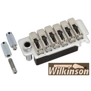 ウィルキンソン【WILKINSON】トレモロユニットVS100N(ホーンドコスモブラック)|factorhythm