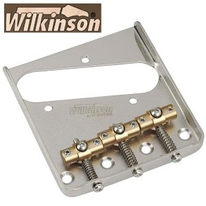 ウィルキンソン【WILKINSON】テレキャスターブリッジWT3(ゴールド)|factorhythm