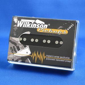 Wilkinson Jベースピックアップ/WBJ-B リア (ブラックカバー)|factorhythm