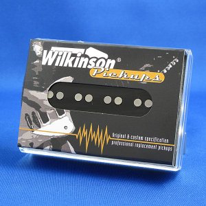 Wilkinson Jベースピックアップ/WBJ-N フロント (ブラックカバー)|factorhythm