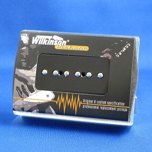 Wilkinson P-90 (ソープバー)ギターピックアップ/WP90-HOT ホット (ブラック/クリーム)|factorhythm