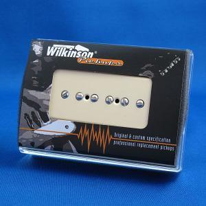 Wilkinson P-90 (ソープバー)ギターピックアップ/WP90-R リア (ブラック/クリーム)|factorhythm