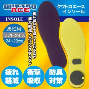 【特別価格】クワトロエース インソール ソフトバージョン メンズ 男性用 施工済み最新バージョン|factory-are