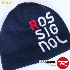 ROSSIGNOL ロシニョール スキー帽子 ニット帽 ニットキャップ 男女 メンズ レディス 防寒 厚手 ネイビー factory-are