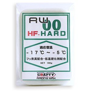 CRAFTY RACING WAX RW00 HF HARD HFハード|factory-are