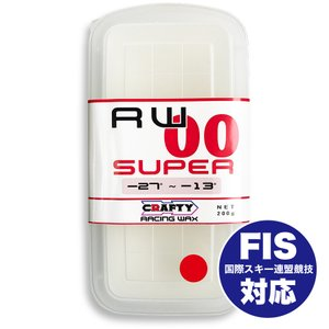 CRAFTY RACING WAX RW00 SUPER スーパー BASE WAX|factory-are