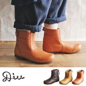 【送料無料】Diu ディウ 4504 | ショートブーツ ブーツ 革靴 レザーブーツ レザーボタン 本革 疲れない ブーツ  レディース レザー 軽い  おしゃれ 疲れにくい|factorytocloset