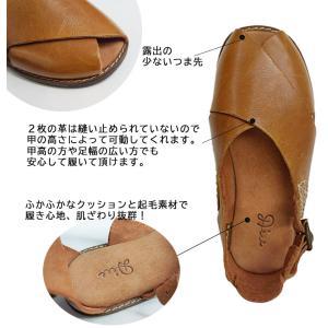 【送料無料】Diu ディウ 1540 | 本革 クロスレザーサンダル 革靴 レディース|factorytocloset|08