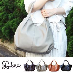 Diu トートバッグ ショルダーバッグ 革 レザー 鞄 軽い 柔らかい 革 軽量 A4 ナチュラル シンプル|factorytocloset