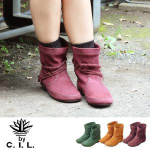 【送料無料】C.I.L. 491 | ブーツ ショートブーツ 革靴 スエード 本革 レザー ローヒール 軽い  コンフォート 疲れにくい 痛くない  歩きやすい ぺたんこ|factorytocloset