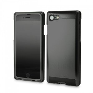 SIMPLEX for iPhone7 BLACK on BLACK 超々ジュラルミン