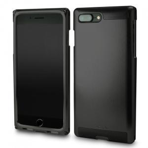 SIMPLEX for iPhone7Plus BLACK on BLACK 超々ジュラルミン