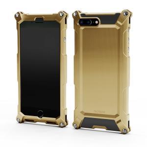 Quattro for iPhone7Plus HD シャンパンゴールド 超々ジュラルミン|factron