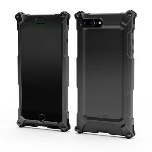 Quattro for iPhone7Plus HD BLACK on BLACK 超々ジュラルミン|factron