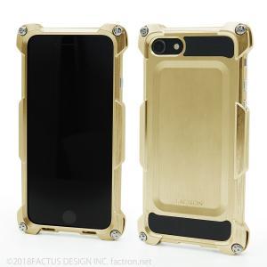 FACTRON Quattro for iPhone8 HD シャンパンゴールド 超々ジュラルミン FA-M-642|factron