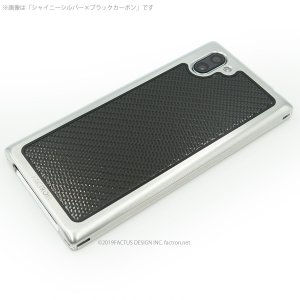 FACTRON SIMPLEX for AQUOS R3【SH-04L,SHV44,R3】Black on BlackCarbon 超々ジュラルミン FA-M-778|factron|03