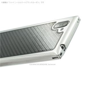 FACTRON SIMPLEX for AQUOS R3【SH-04L,SHV44,R3】Black on BlackCarbon 超々ジュラルミン FA-M-778|factron|05