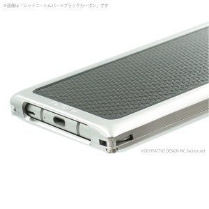 FACTRON SIMPLEX for AQUOS R3【SH-04L,SHV44,R3】Black on BlackCarbon 超々ジュラルミン FA-M-778|factron|06