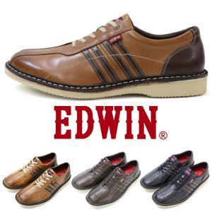 ビジネス スニーカー カジュアル シューズ エドウイン EDWIN EDM702 革靴 本革 コンフォート|fairstone