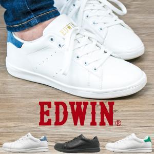 スニーカー メンズ レディース シューズ EDWIN 軽量 白 靴 黒 ビジネスシューズ 運動靴 室内履き ナースシューズ eds1201 1202|fairstone