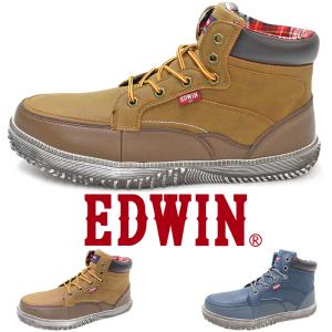 安全スニーカー 靴 セーフティーシューズ EDWIN エドウィン ESM101 ハイカット JSAA-A種|fairstone