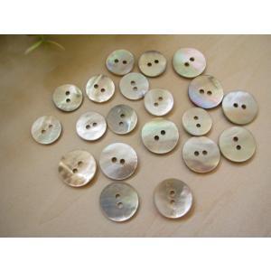 貝ボタン 大小 20個セット|fairy-lace