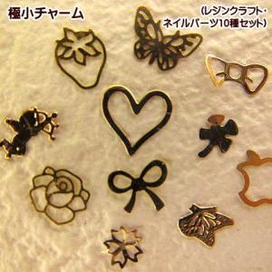 極小チャーム ネイルパーツ10種セット(Aセット) fairy-lace
